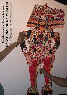 Dakshinachitra Shadow Puppetry Tholu Bommalata Pinterest