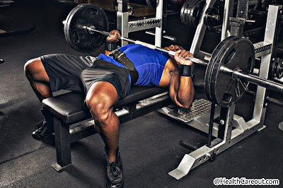 Chest workout in gym healthcareout.com