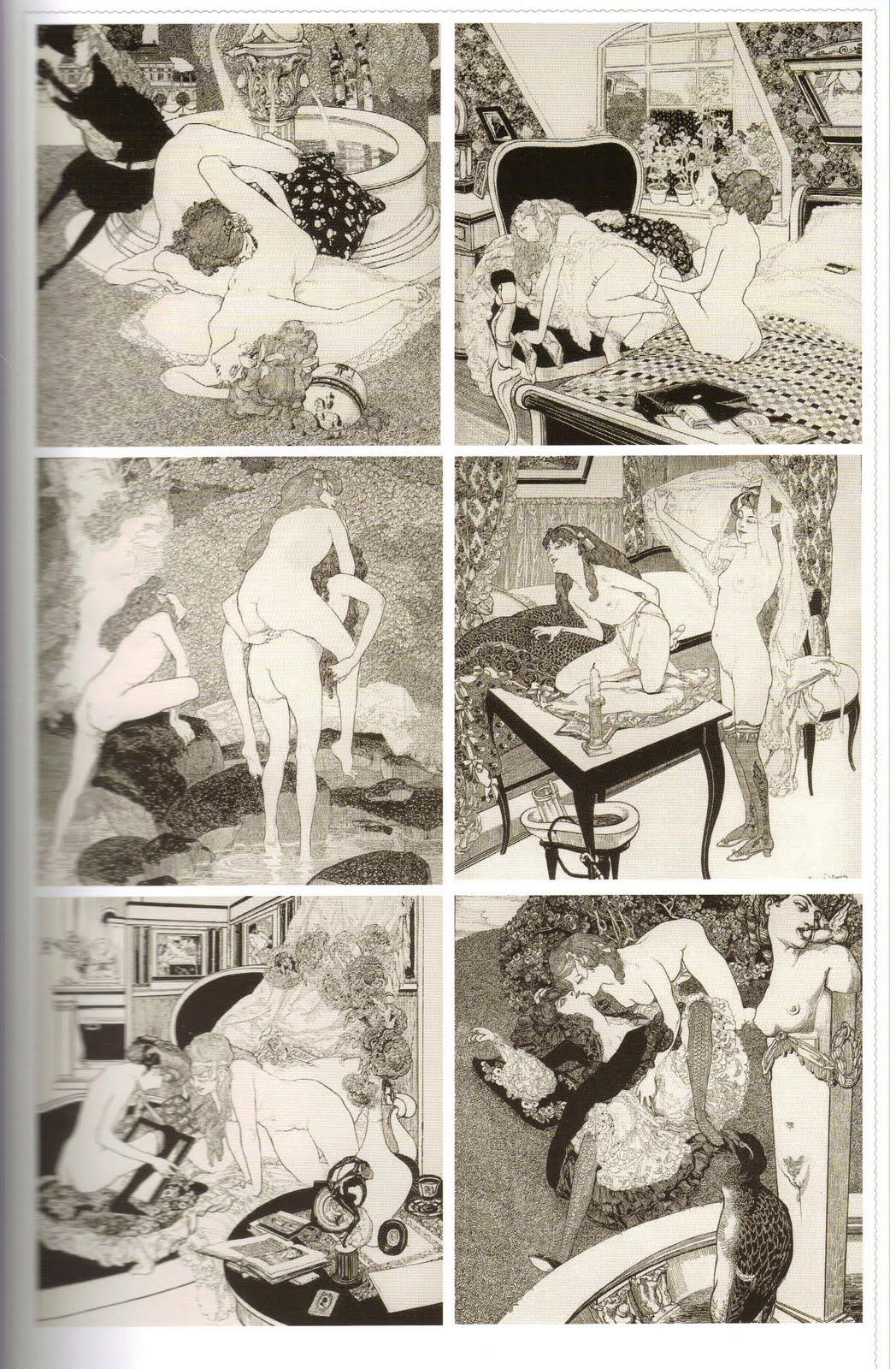 Erotic graphic cartoons