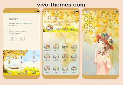 Beautiful Theme For Vivo Android Smartphones