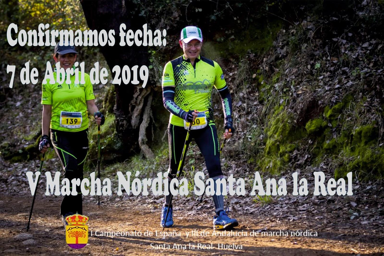 Nordic Walking Santa Ana la Real