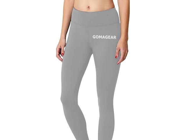 GOMAGEAR FLEX WORKOUT LEGGINGS - GREY