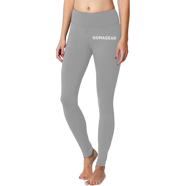 GOMAGEAR FLEX WORKOUT LEGGINGS - GREY