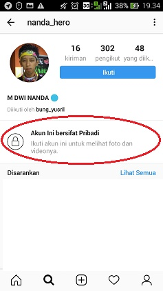 private ig