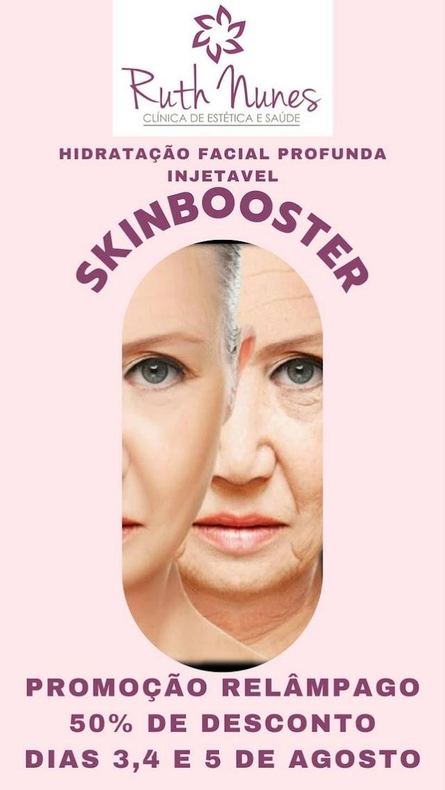 Clínica Ruth Nunes fará promoção relâmpago de hidratação facial profunda injetável