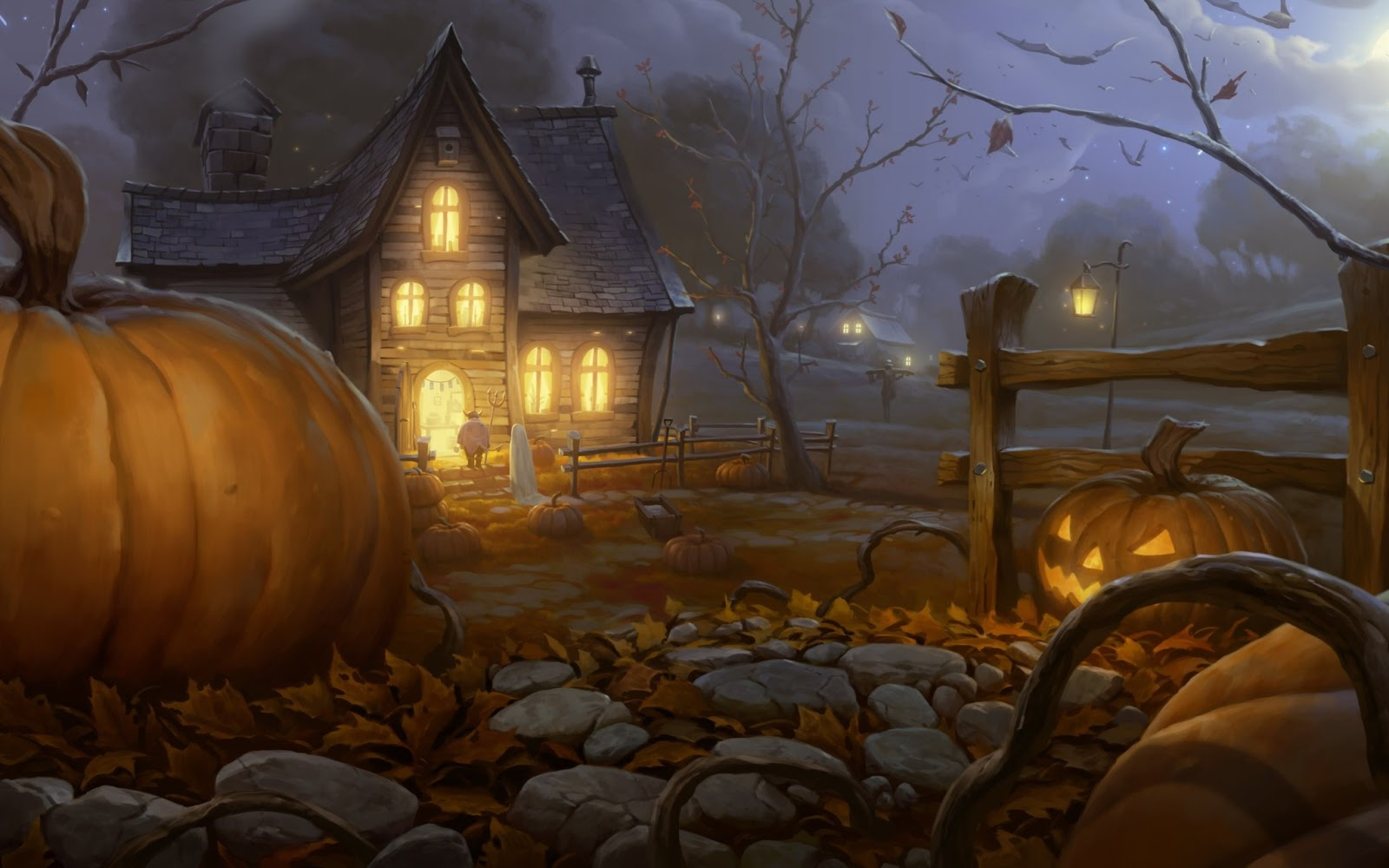 All Wallpapers: Happy Halloween hd Wallpapers 2013