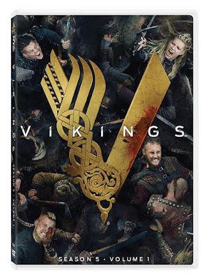 Vikings Season 5 Volume 1 Dvd