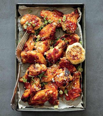 Garlic-Ginger Chicken Wings Recipe