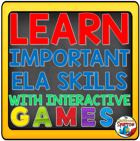 Learn Important English Language Arts Skills Using Interactive Games