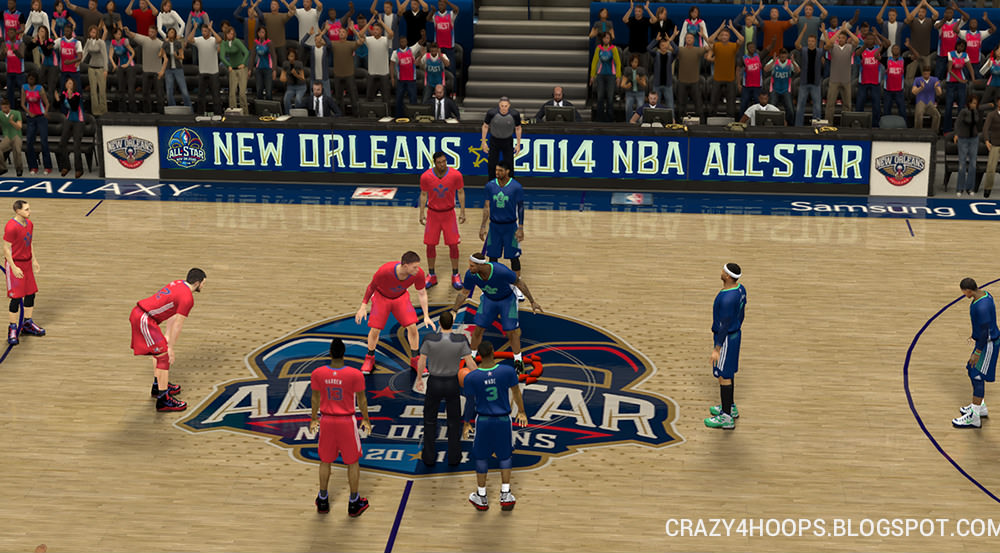 NBA 2k14 Official Roster Update Download : February 7th
