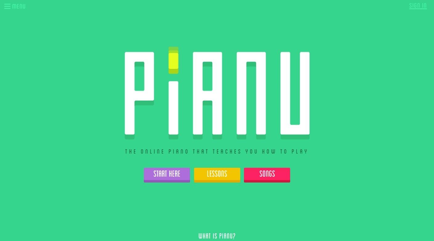 Aprende a tocar piano con Pianu