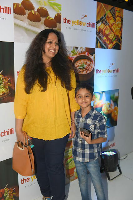 12. Vaishali Samant with Son