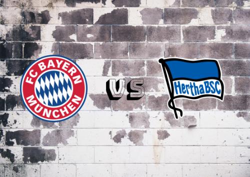 Bayern de Múnich vs Hertha BSC  Resumen y Partido Completo