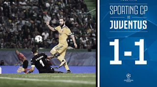 Sporting Lisbon vs Juventus 1-1 Video Gol