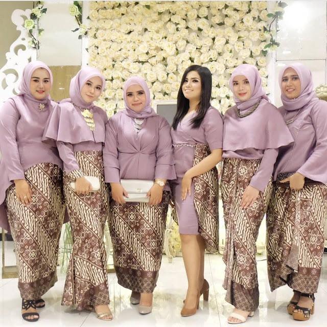 Model Rok Batik Panjang Untuk Orang Gemuk