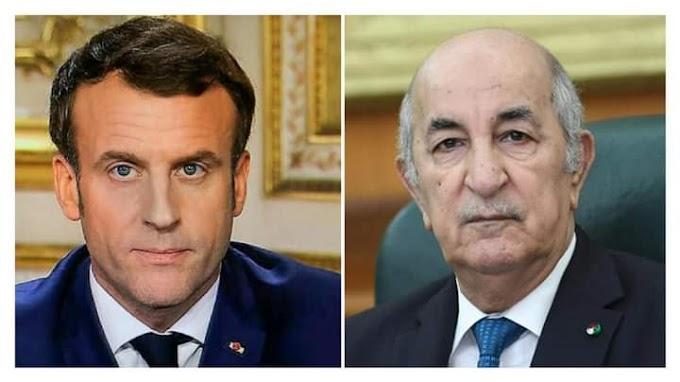 El presidente de Argelia, Tebboune, recibe una tercera llamada de Macron en tan solo un mes.