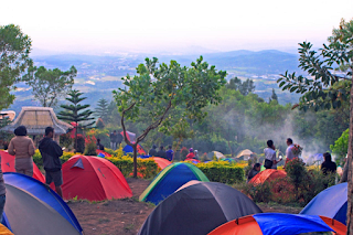 camping ground camp mawar ungaran