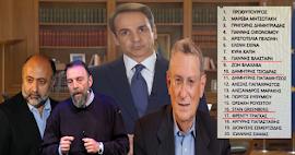 """Η λίστα με τους 20! Αυτούς """"κουβάλησε"""" μαζί του στην Θεσσαλονίκη ο Μητσοτάκης στην Θεσσαλονίκη!"""