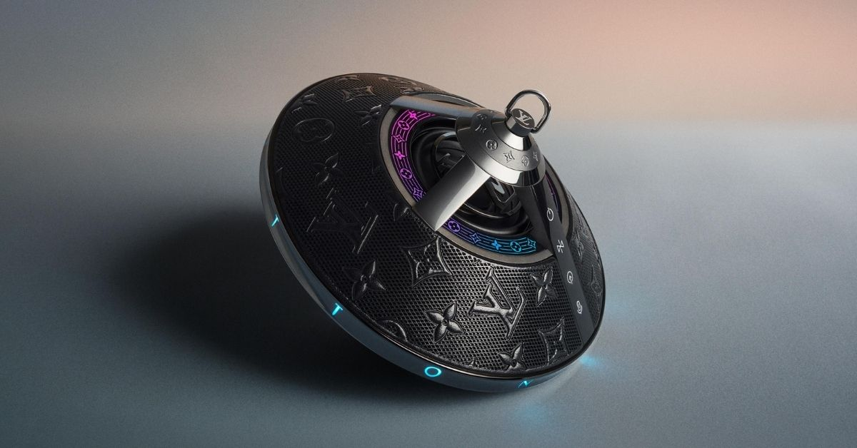 1. Horizon Light Up Speaker from Louis Vuitton - Moniedism