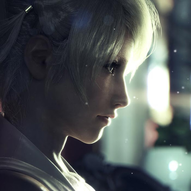 Final Fantasy XV - Lunafreya Wallpaper Engine