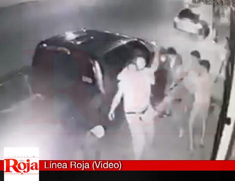 Videocámara capta la agresión del jefe de custodios de la cárcel de Playa del Carmen, hecha con una pistola, contra un vecino de Villas del Sol. Ya está libre... ¿Samaria abonará a la impunidad?