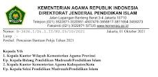 Surat Edaran Pencairan Bantuan Pokja Tahun 2021
