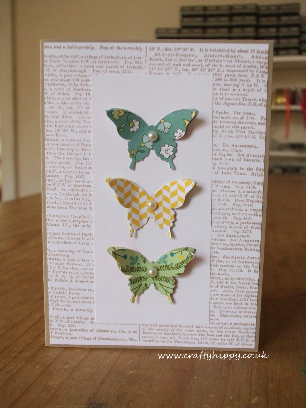 Stampin' Up!, All Abloom, Elegant Butterfly Punch