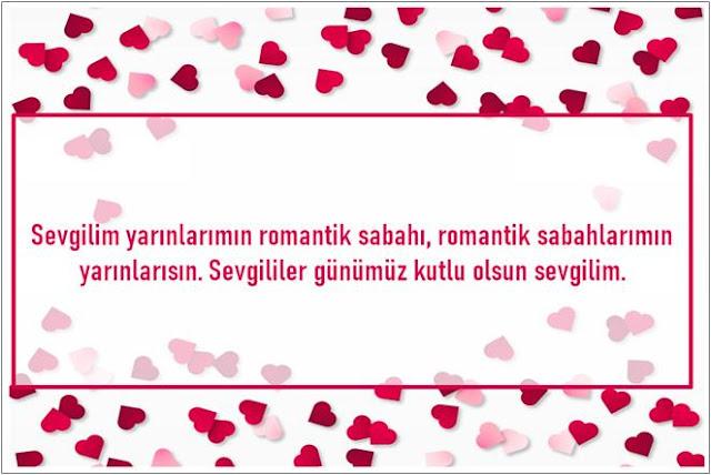 sevgililer günü mesajı