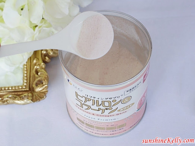 FINE Japan Hyaluron and Collagen White, Fine Japan, Hyaluron and Collagen White, Peach Flavor, Collagen Drink, Cason Trading, Tokyoninki, Beauty Supplement, Beauty