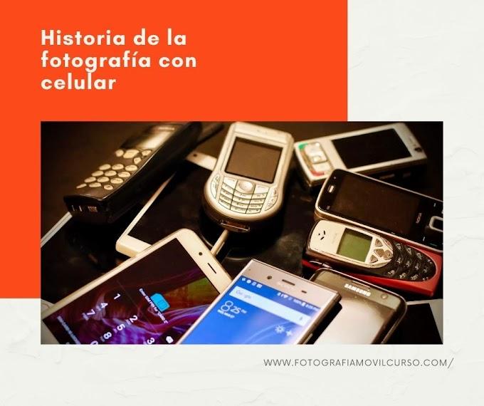 La historia y evolución de la fotografía móvil