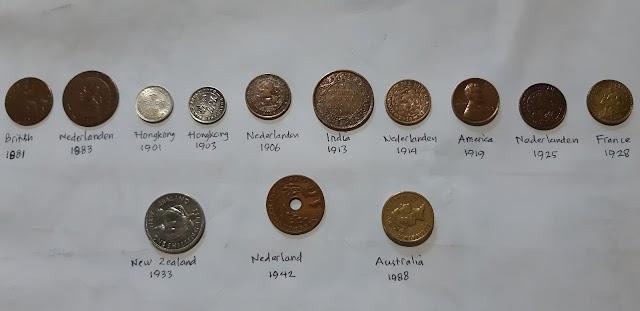 [Dijual] Mata uang kuno, koin beberapa negara jaman dulu