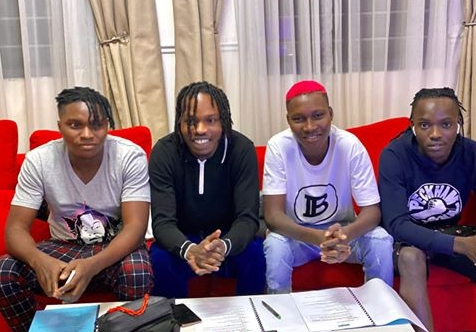 Naira-Marley-signs-four-acts-to-Marlians-Records-just-after-Marlian-fest-Lagos-shutdown