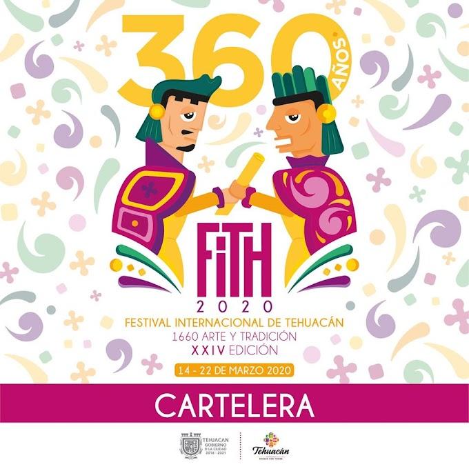 Festival Internacional Tehuacán 2020 Programa
