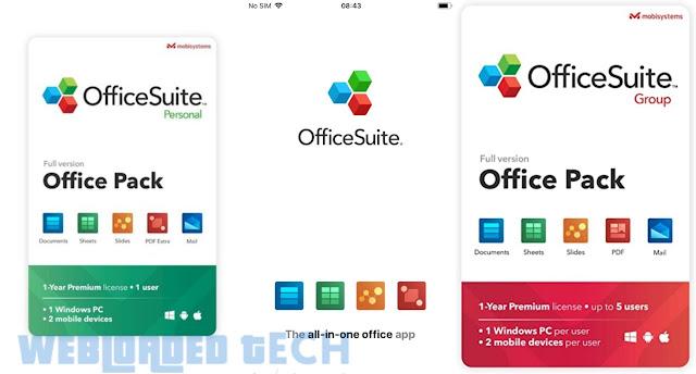 OfficeSuite – Office, PDF, Word Sheets Slides Note v11.2.34501 [Premium Mod] APK [Latest