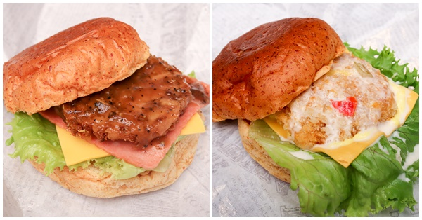 台中北區維吉堡一中店,蔬食漢堡新體驗,一中街愛廣場素食美食