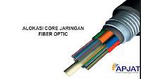 Alokasi Core Jaringan Fiber Optic