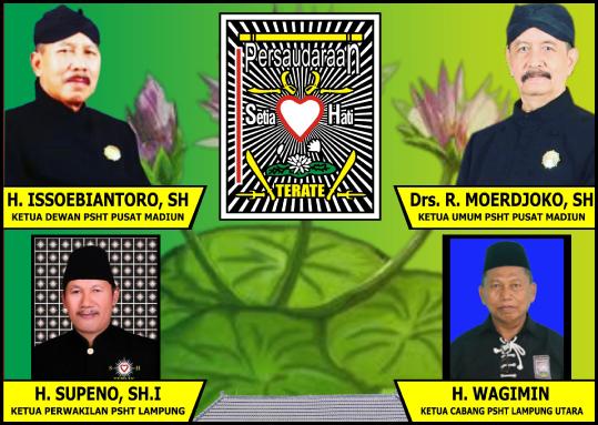 Wagimin (Ketua Cabang PSHT Lampung Utara)