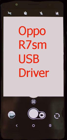 Oppo R7sm USB Driver Download