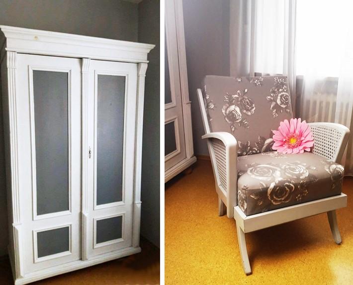 Bauernschrank-und-50er-Sessel-restauriert-vonKarin