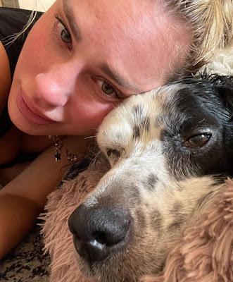 Francesca Brambilla cane Camillo morto bonasorte avanti un altro