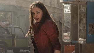 vengadores la guerra del infinito: nuevo video del set con bruja escarlata