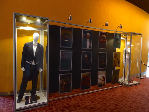 Youth movie costume exhibit
