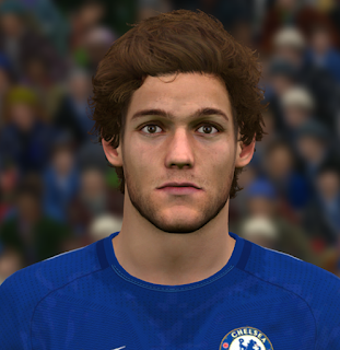 PES 2017 Faces Marcos Alonso by Ben Hossam FaceMaker