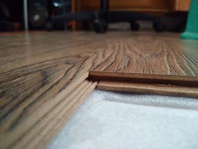 cara memasangan lantai kayu laminated