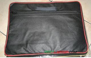 Tas Softcase 14 inchi (2 saku + resleting) Jinjing