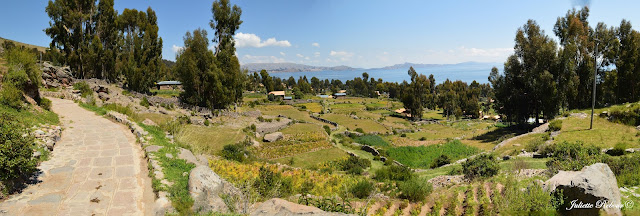Amantani sur le lac titicaca au Pérou