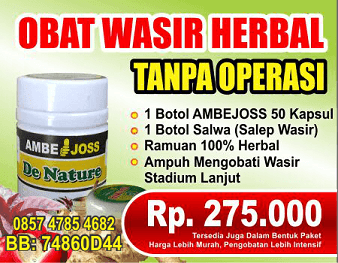Cara Herbal Hilangkan Ambeien