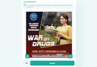 cara membuat twibbonize hari anti narkoba 3 - kanalmu