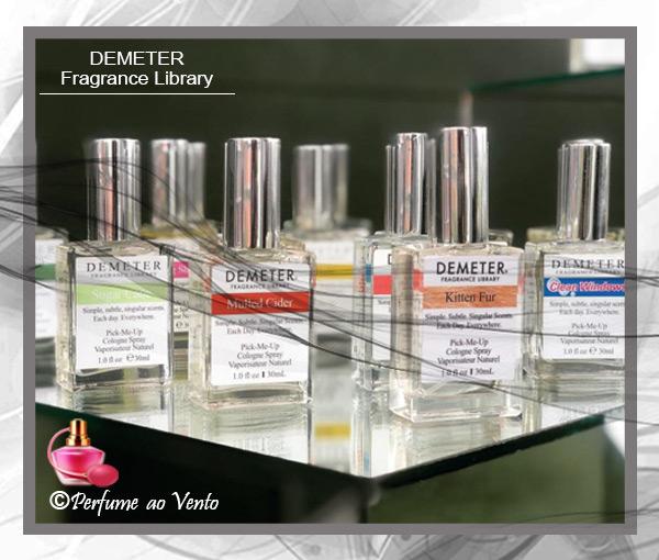 Perfume KITTEN FUR Demeter Fragrance Library Primeiro Perfume com Cheiro de Gato