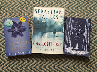 The Almost Moon, Charlotte Gray and The Snow Child